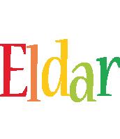 Eldar birthday logo