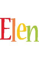 Elen birthday logo