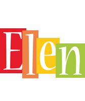 Elen colors logo