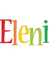 Eleni birthday logo