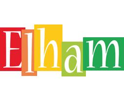Elham colors logo