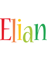Elian birthday logo