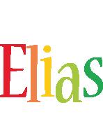 Elias birthday logo