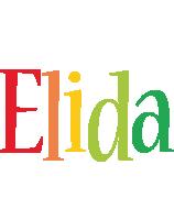 Elida birthday logo