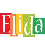 Elida colors logo