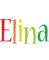 Elina birthday logo