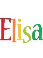 Elisa birthday logo