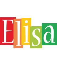 Elisa colors logo