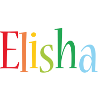 Elisha birthday logo