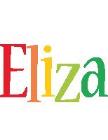 Eliza birthday logo