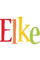 Elke birthday logo