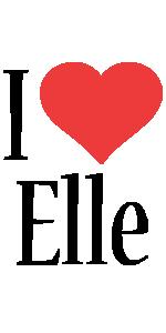 Elle logo name logo generator kiddo i love colors style for Elle decor logo