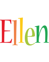 Ellen birthday logo