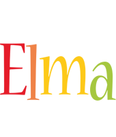 Elma birthday logo