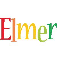 Elmer birthday logo