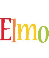 Elmo birthday logo