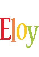 Eloy birthday logo