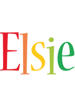 Elsie birthday logo