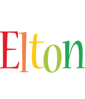 Elton birthday logo