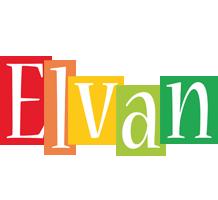Elvan colors logo