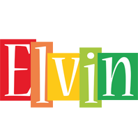 Elvin colors logo