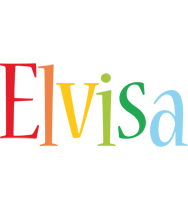 Elvisa birthday logo