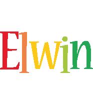 Elwin birthday logo