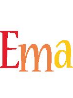 Ema birthday logo