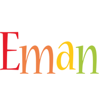 Eman birthday logo
