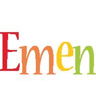 Emen birthday logo