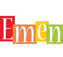 Emen colors logo