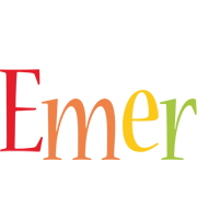 Emer birthday logo