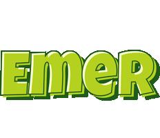 Emer summer logo