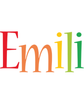 Emili birthday logo