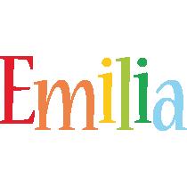 Emilia birthday logo