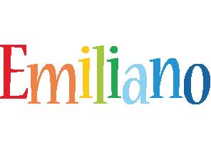 Emiliano birthday logo