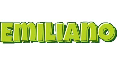 Emiliano summer logo