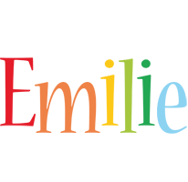 Emilie birthday logo