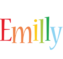 Emilly birthday logo
