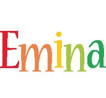 Emina birthday logo