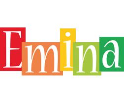 Emina colors logo