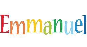 Emmanuel birthday logo
