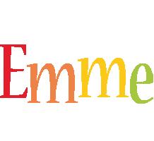 Emme birthday logo