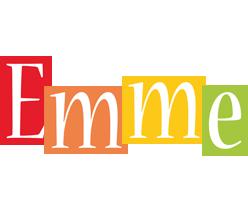 Emme colors logo