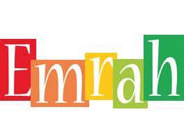 Emrah colors logo