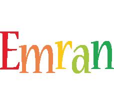 Emran birthday logo