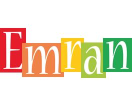 Emran colors logo