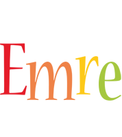 Emre birthday logo