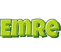 Emre summer logo