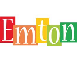 Emton colors logo